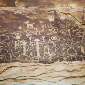 Petroglyphs at Mesa Verde NP