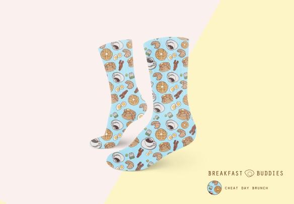 callie brunch socks